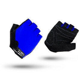 GripGrab X-Trainer Short Cycling Gloves Juniors Blue
